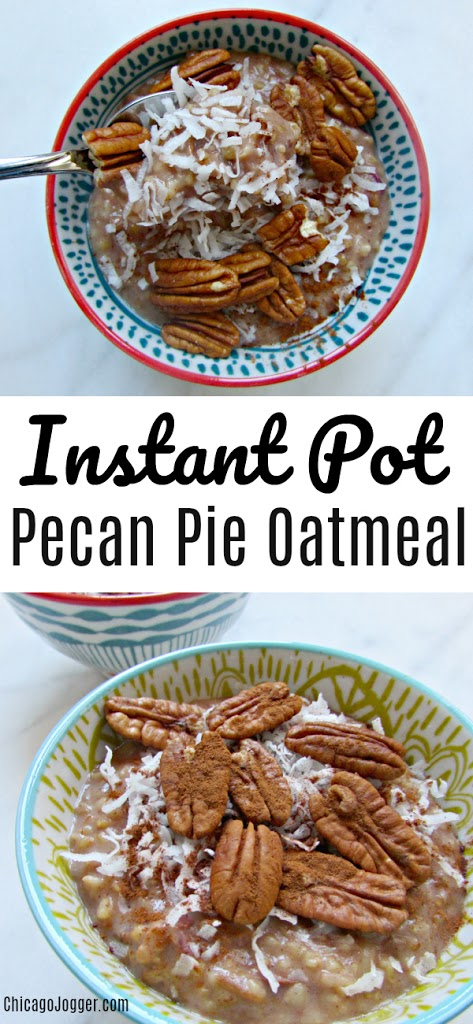 Instant Pot Pecan Pie Oatmeal