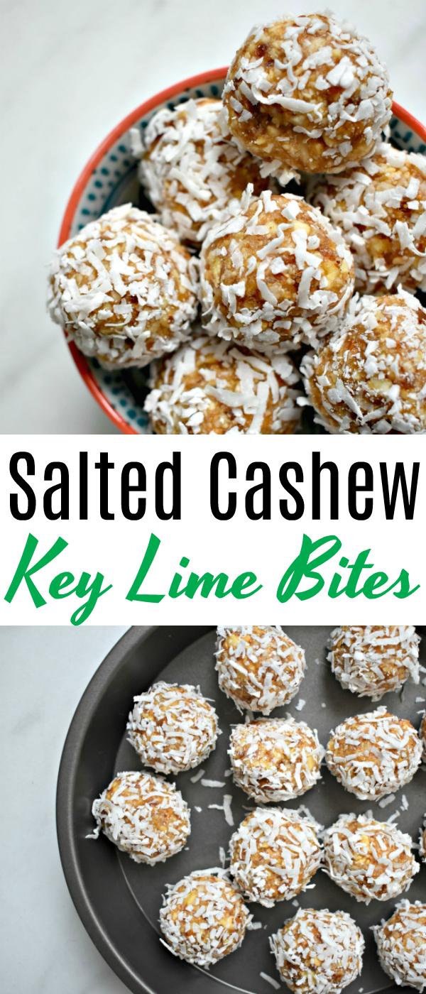Salted Cashew Key Lime Bites | Chicago Jogger