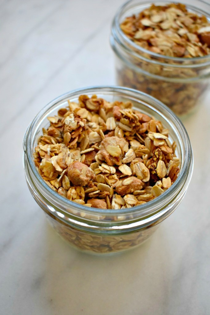 Cashew Butter Granola with Orange Zest | Chicago Jogger