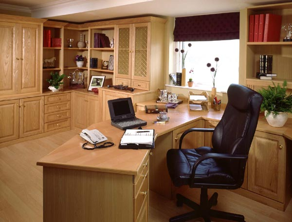 Custom Home Office  Chicagoland Storage Solutions  Window Coverings
