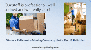 Our Naperville Movers Offer The Best Customer Service