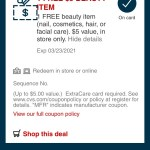 Sign up for texts from CVS and get $5 free