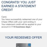 Save money with Chase Offers