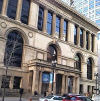 Chicago Cultural Center front 2