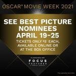 Cinemark Oscar Movie Week 2021 $5-10