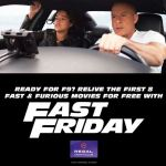 Regal Cinemas Free Screenings of Fast & Furious Films