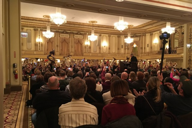 Free TubaChristmas Palmer House Dec 21   Chicago on the Cheap