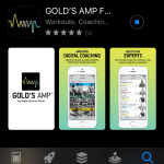 Free access to Gold's Gym premium app