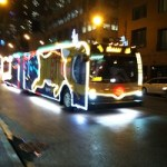 Ride the CTA Holiday Bus