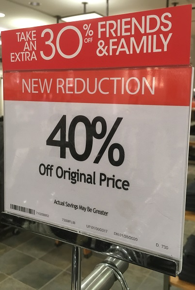16e6f10350e18 30% discount at Macy s - Chicago on the Cheap