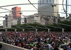 Millennium Park Crowd