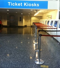 Museum of Science and Industry Main ticket kiosk