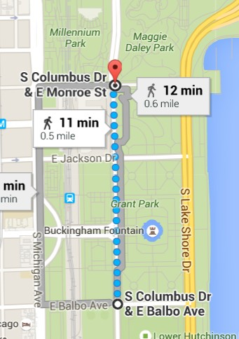 St Patricks Day Parade Route