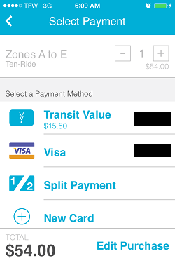 Ventra App Metra Ticket screen 12