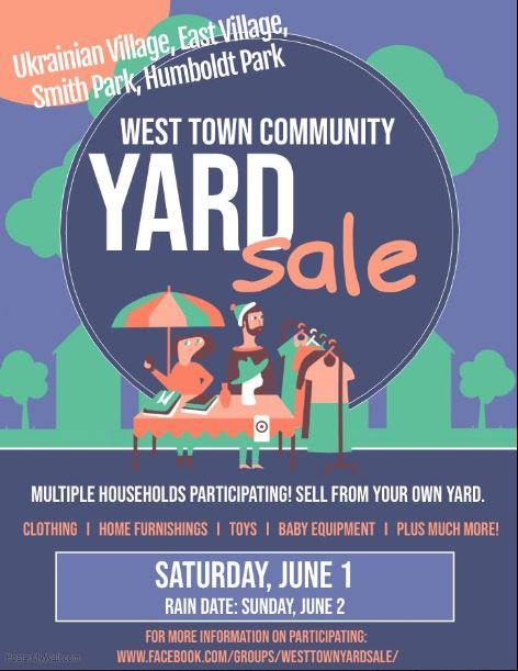 Free West Town Community Yard Sale Chicago - Chicago on the