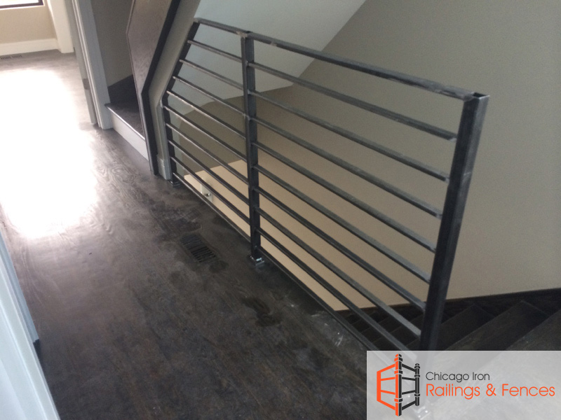 Chicago Indoor Wrought Iron Railings Handrails Contractor