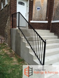 Chicago Wrought Iron Railings Handrails Contractor