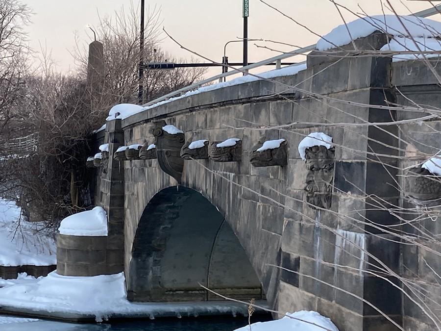 Animal Bridge in Jackson Park