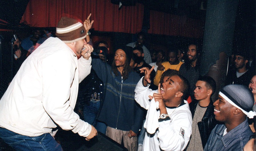 Juice performs at Blue Groove Lounge late in the Elbo Room days.