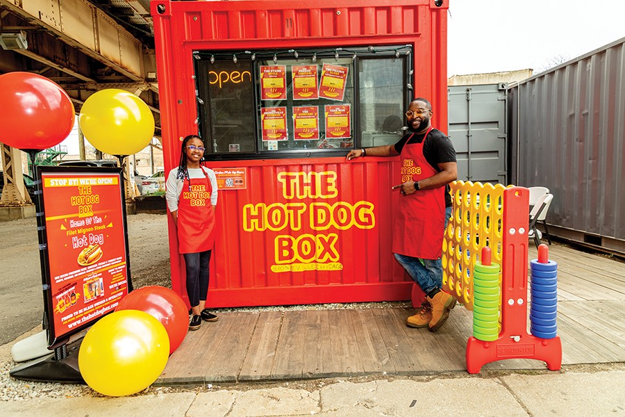 Brooklyn and Bobby are the Instagram face of The Hot Dog Box.