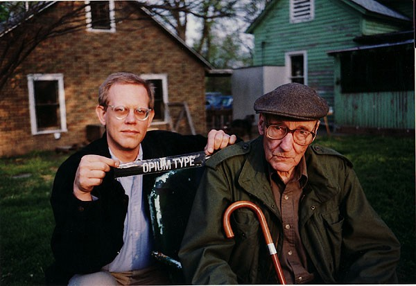 William S. Burroughs and James Grauerholz
