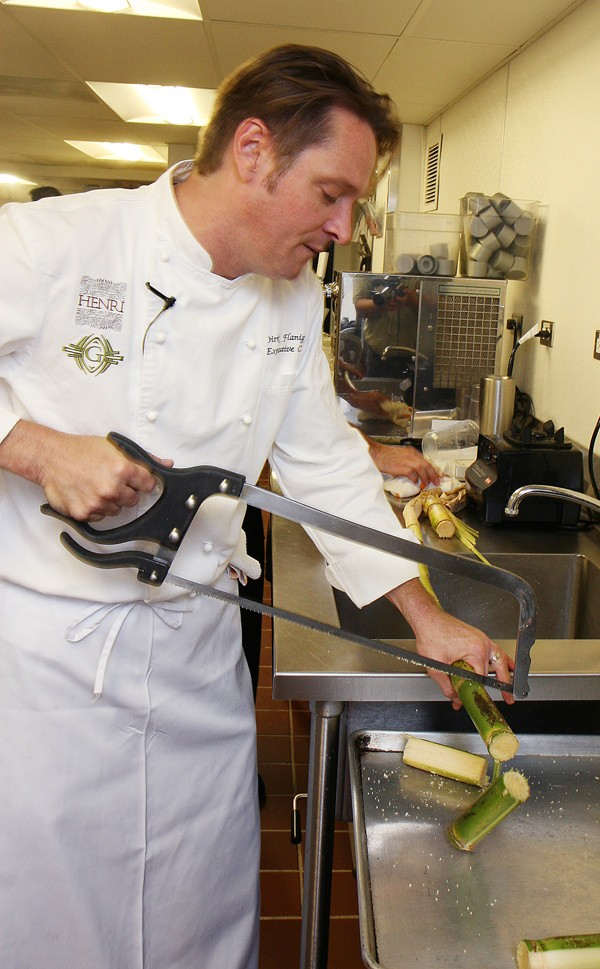 Chef Dirk Flanagan of Henri and the Gage