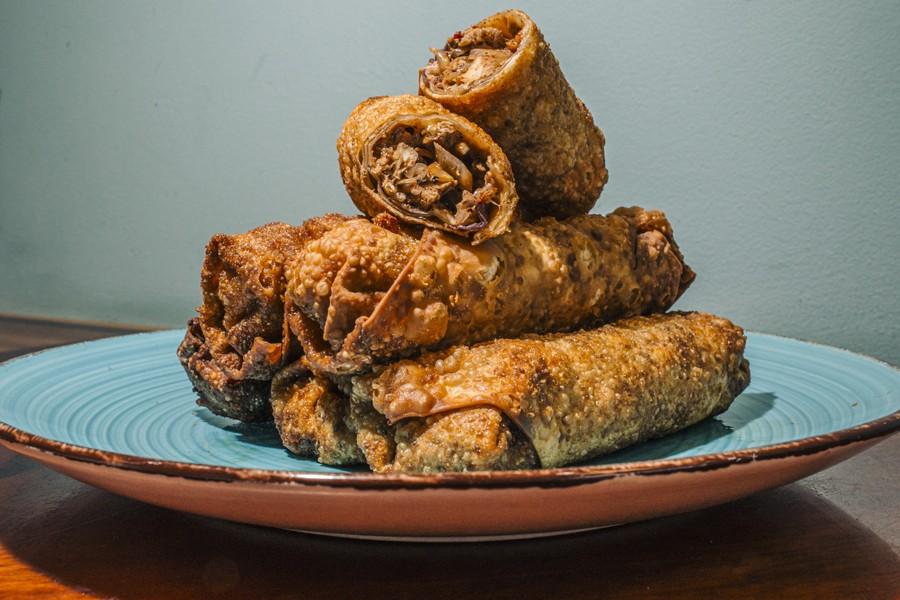 The OG jerk chicken egg roll, unofficial snack of the west side