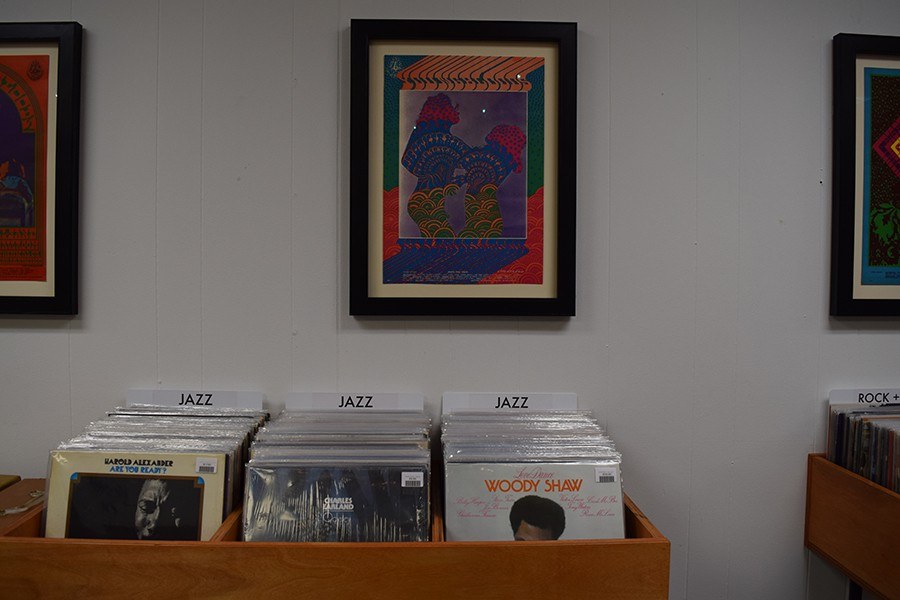 The jazz selections at Interstellar Space include Harold Alexander's 1972 <i>Are You Ready?</i>, Charles Earland's 1976 <i>Odyssey</i>, and Woody Shaw's 1976 <i>Love Dance</i>.