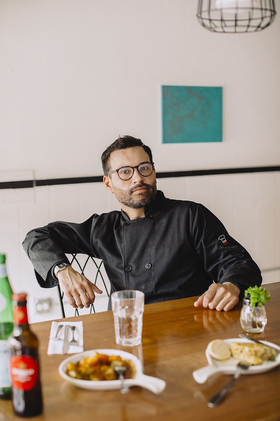 Francisco Bolanos grew up cooking alongside his grandmother in Madrid.