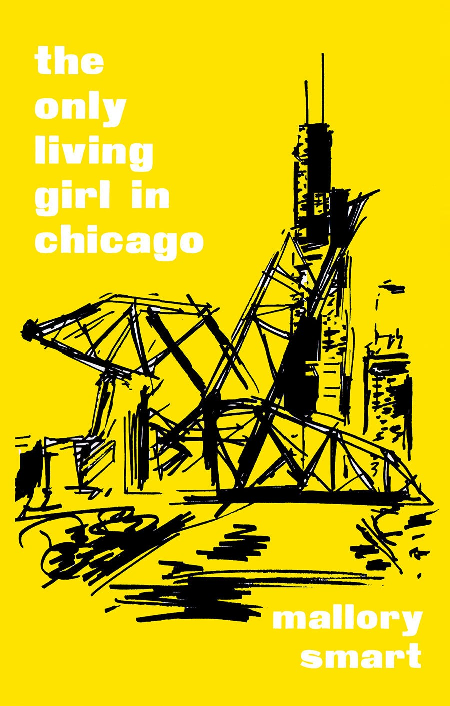 The cover art for Mallory Smart's forthcoming book, <i>The Only Living Girl in Chicago</i>, due out in August 2021 by Colorado's Trident Press.
