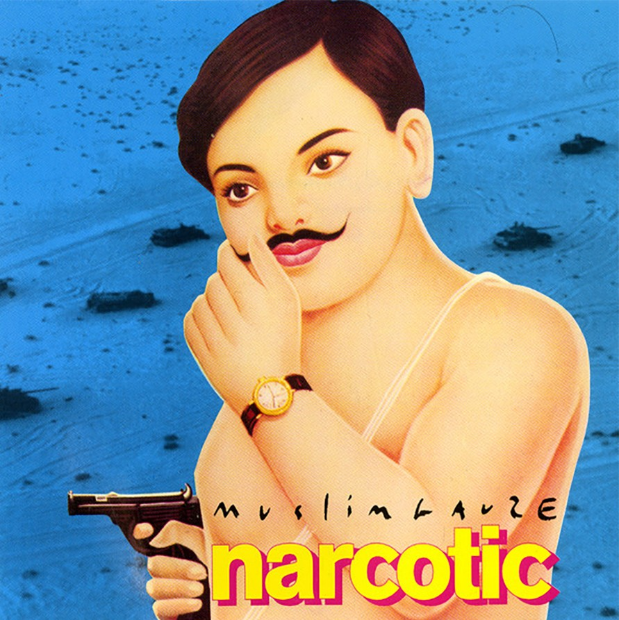 The cover art for the 1997 Muslimgauze album <i>Narcotic</i>
