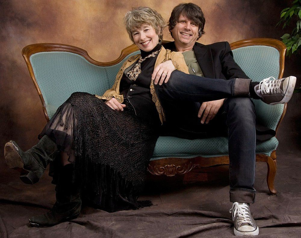 Rindy and Marv Ross of Quarterflash in 2010