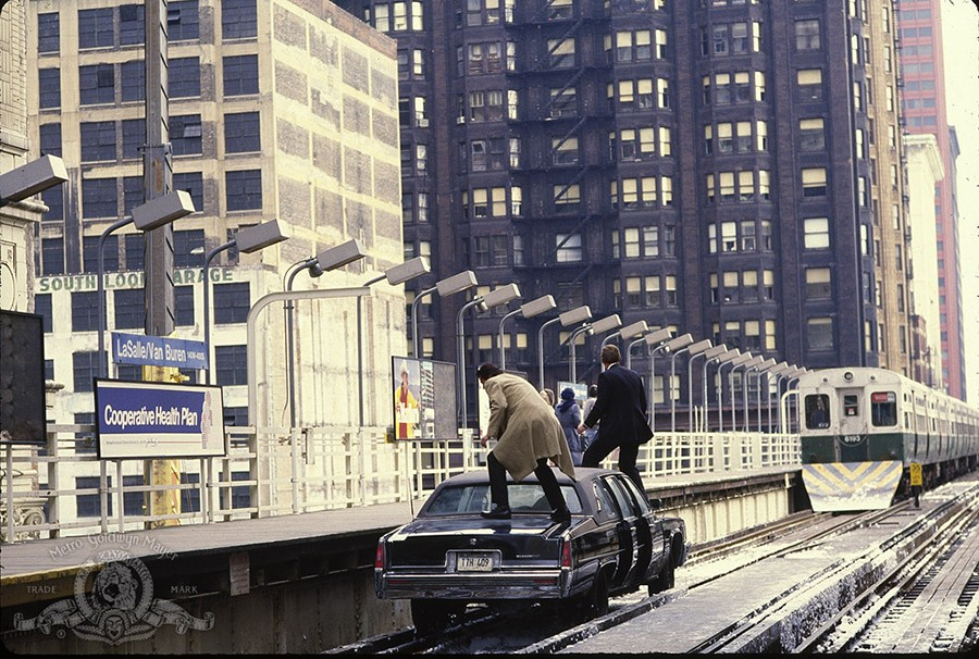 A scene from <i>Running Scared</i> before the crash.