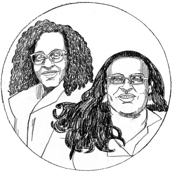 Patricia Frieson and Wanda Bailey