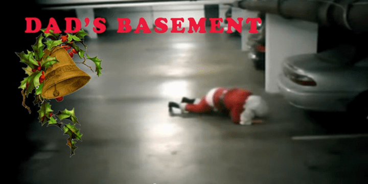 Eat, drink, dance, and be merry at Dad's Basement Holiday B&B Sat 12/16.
