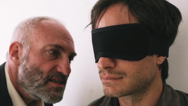 Gael García Bernal (right)