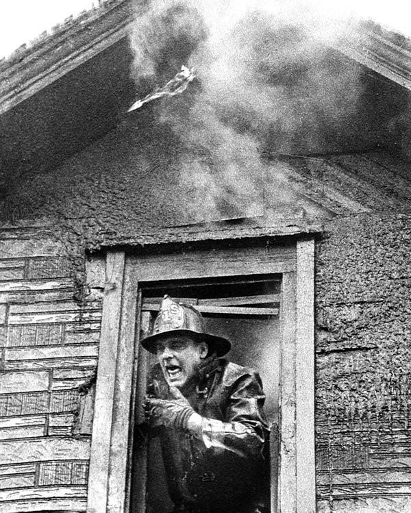 A fireman shot on assignment for the <em>Sun-Times</em>