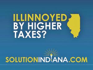 Indiana asks if you're Illinoyed. (image via Fort Wayne Business Weekly)