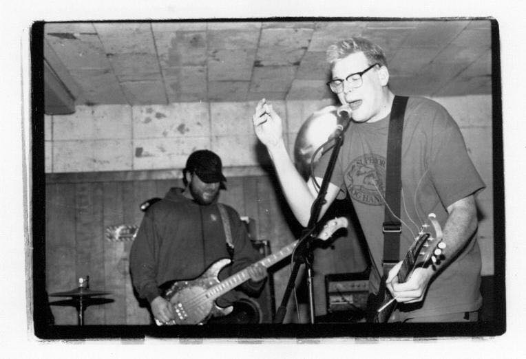 Brian Peterson (left) and Pat Kenneally during a My Lai set at the Fireside Bowl