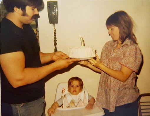 My first birthday in 1978