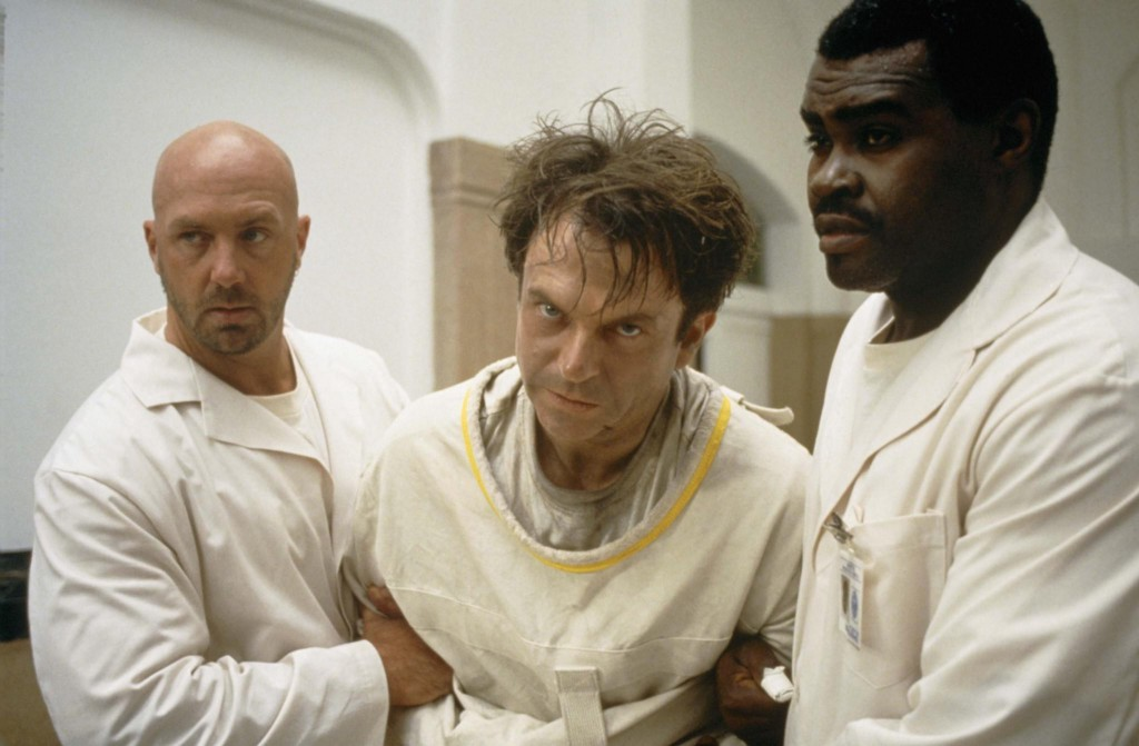 John Carpenter's <i>In the Mouth of Madness</i> screens in the marathon on Saturday at 10:45 PM.