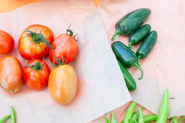 Thai Market Asian vegetables