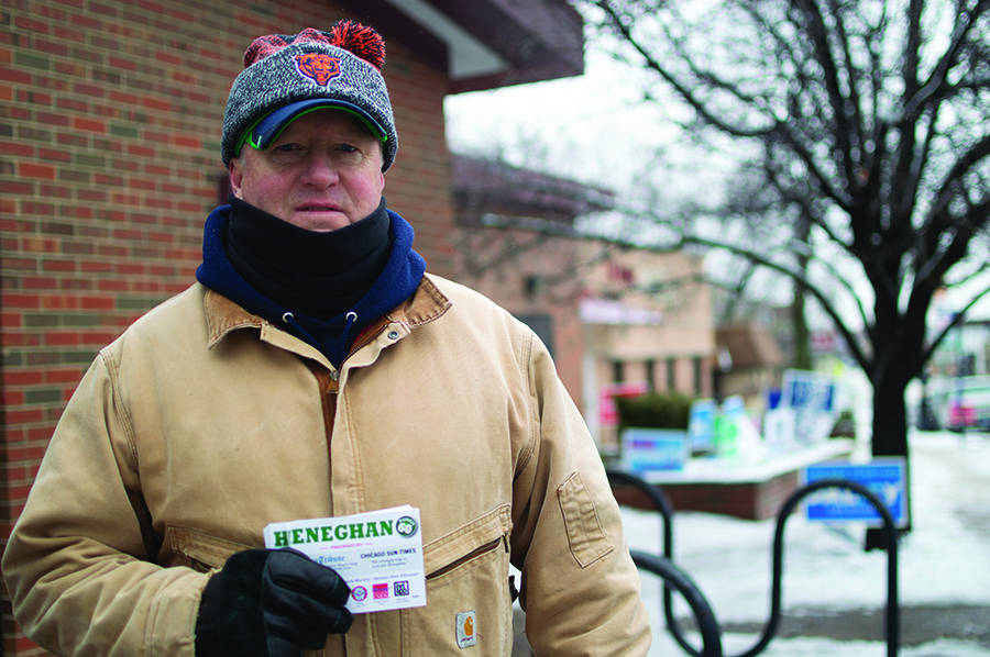 Tim Heneghan is campaigning to bring civility back to 41st Ward politics.