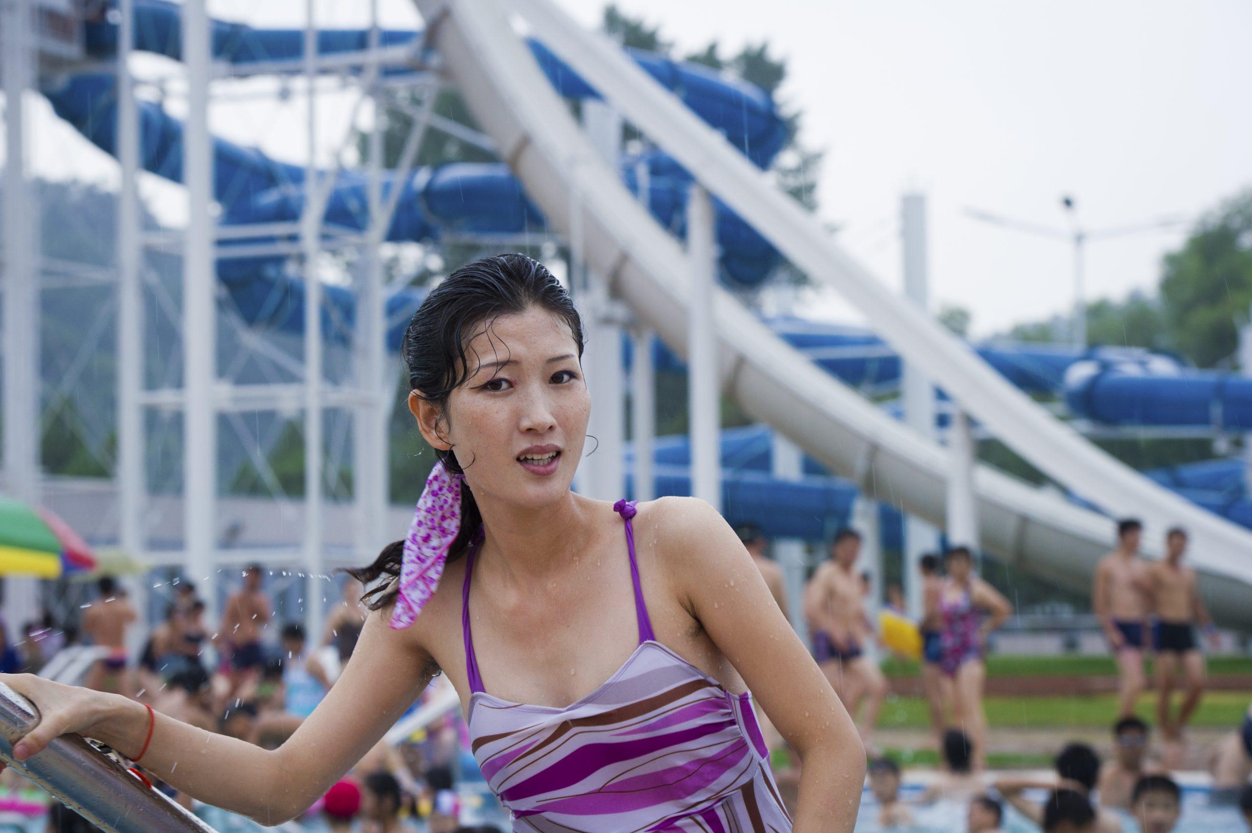 Ari Hatsuzawa, <em>Outdoor Pool in Pyongyang</em>