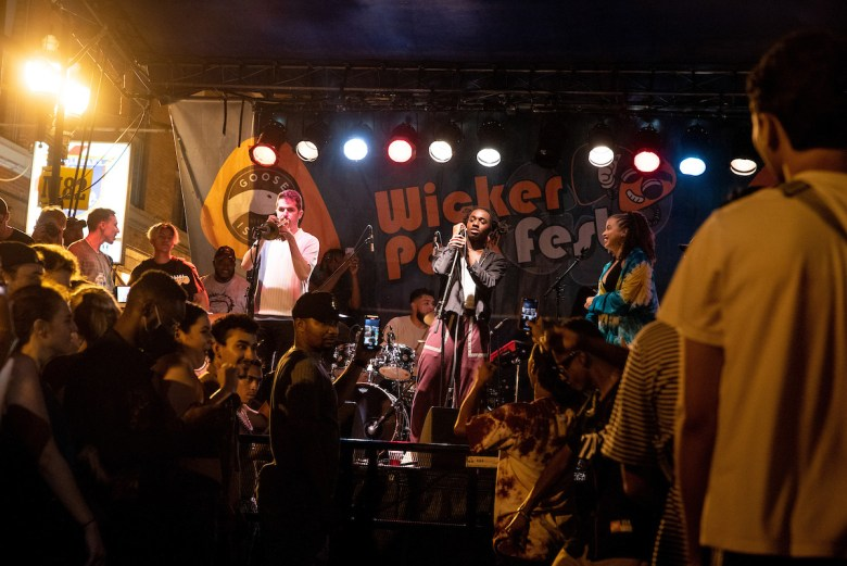 Chicago artist Ric Wilson headlines Wicker Park Fest on July 24, 2021—one of the first festivals to take place in the city since the pandemic began.