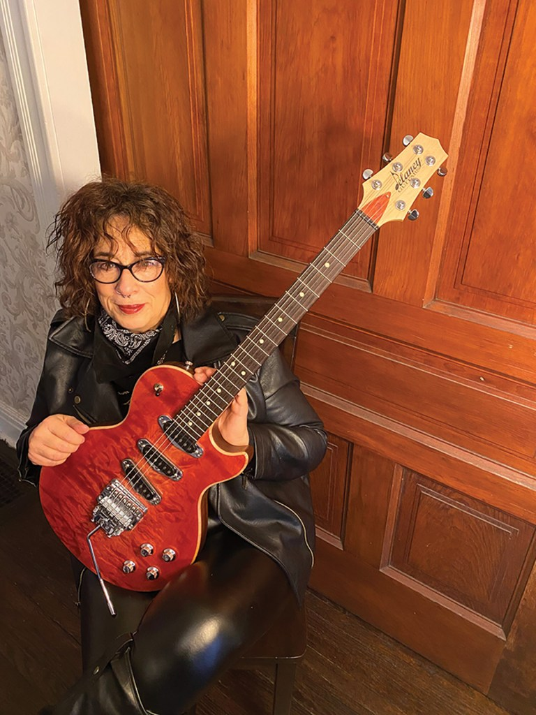Blues artist Joanna Connor