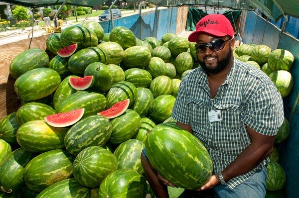 Keith Baylor of Baylor Melons