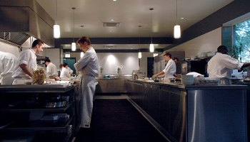Best Place to Eat if Someone Else Is Paying: Alinea and L2O (tie)