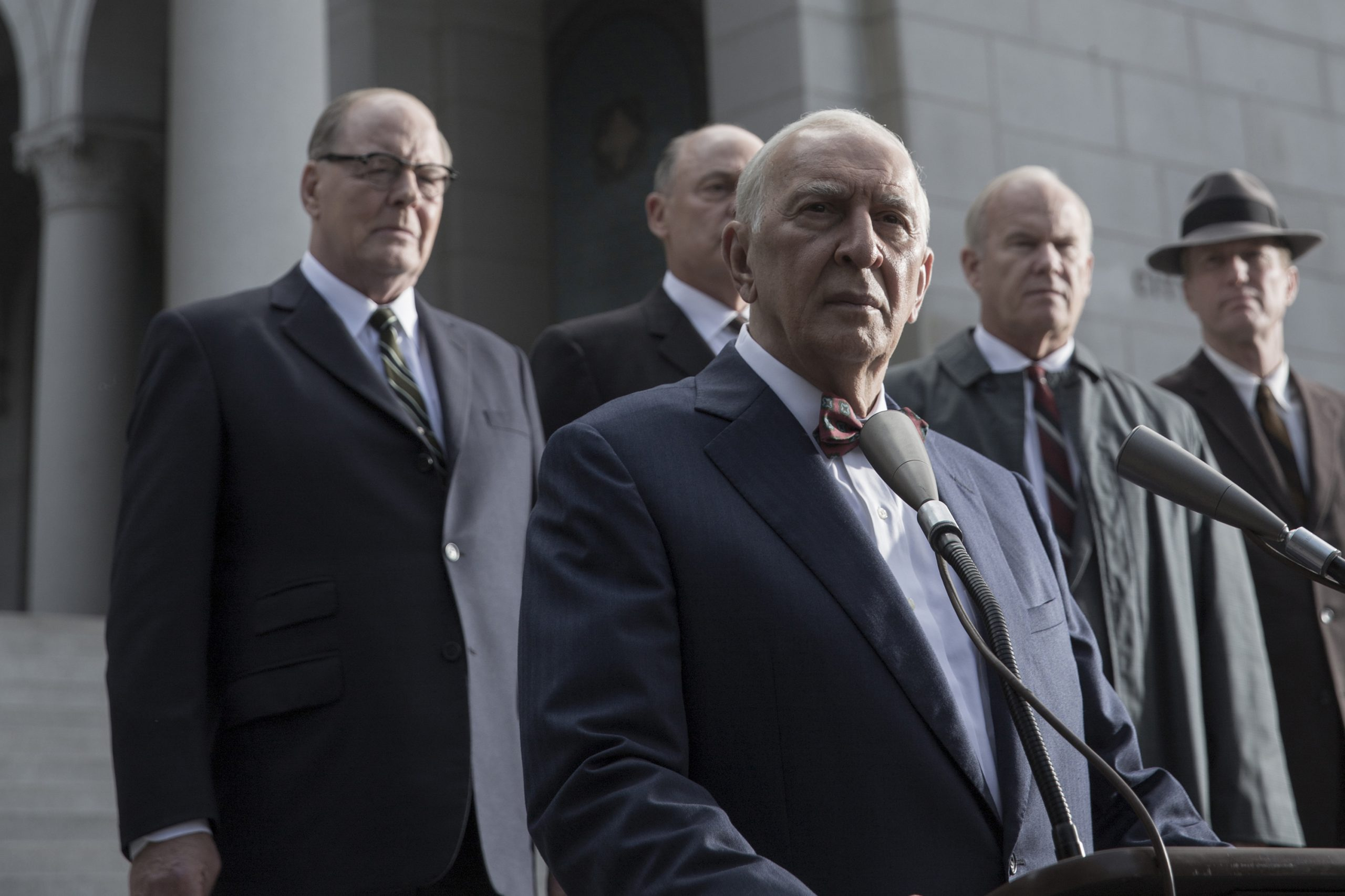 Frank Langella as Sen. Richard Russell of Georgia in <i>All the Way</i>.