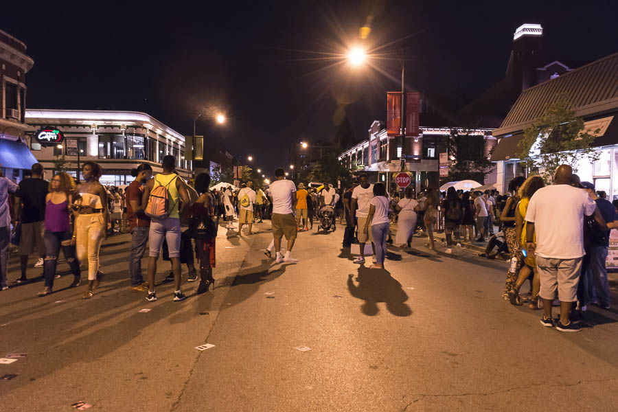 The 2017 Silver Room Block Party draws to a close.
